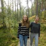 Nädal külalistega Kieli koolist Saksamaalt.